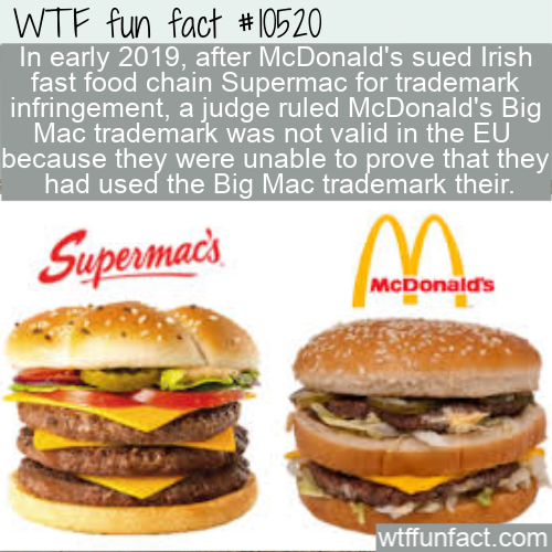 WTF Fun Fact - Big Mac vs Supermac