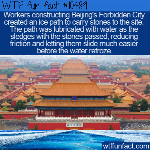 WTF Fun Fact - Ice Road To The Forbidden City