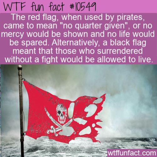 WTF Fun Fact - Pirate Flag Colors