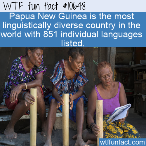 WTF Fun Fact - So many languages