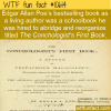 WTF Fun Fact – Poe's The Conchologist's First Book