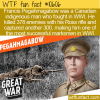 WTF Fun Fact – Francis Pegahmagabow