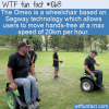 WTF Fun Fact – Hands-Free Wheelchair