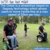 WTF Fun Fact – Hands-Free Wheelchair