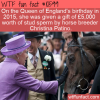 WTF Fun Fact – What Do You Give A Queen On Her Birthday?