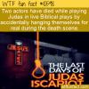 WTF Fun Fact – Judas Accidental Death