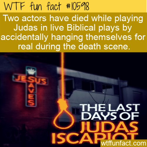 WTF Fun Fact - Judas Accidental Deaths