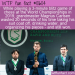 WTF Fun Fact - Magnus Carlsen Grandmaster