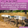 WTF Fun Fact – Missing Mailing Address