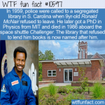 WTF Fun Fact - Ronald McNair