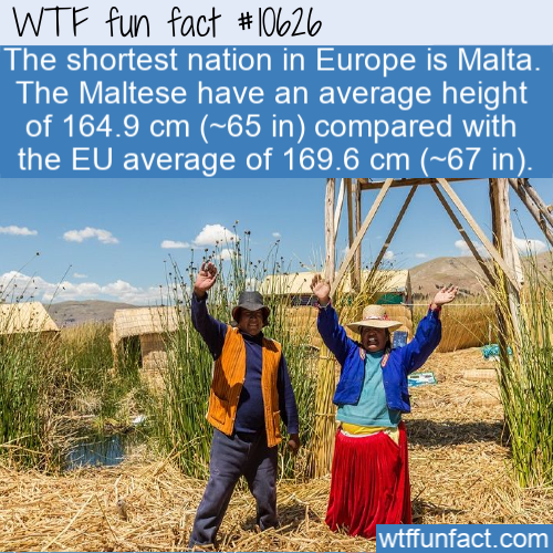 WTF Fun Fact - Shortest Nation Malta
