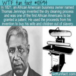 WTF Fun Fact - Thomas Jennings