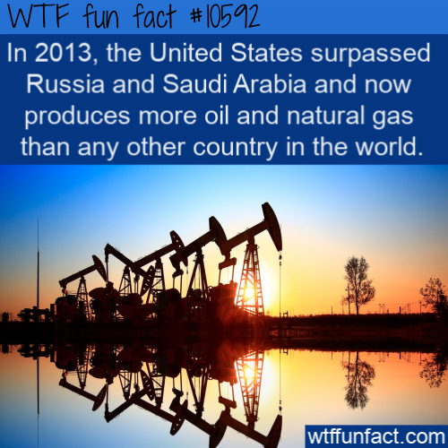 WTF Fun Fact - Top Oil Producer