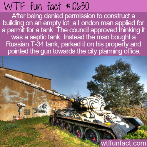WTF Fun Fact - Stompie The Tank