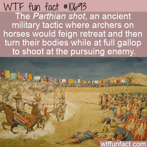 WTF Fun Fact - Ancient Shooting Technique