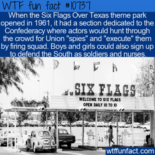 WTF Fun Fact - Confederate Six Flags