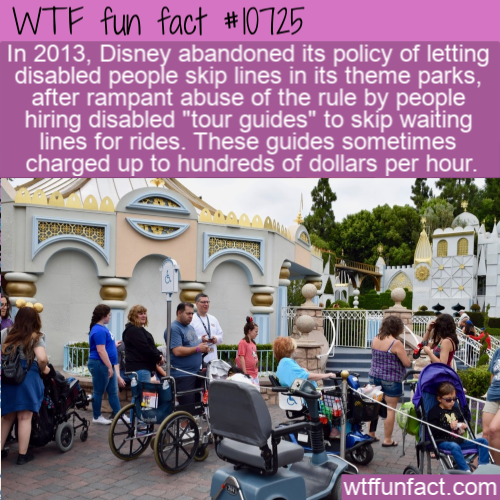 WTF Fun Fact - Disabled Tour Guide