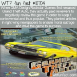 WTF Fun Fact - GTA Bad Press