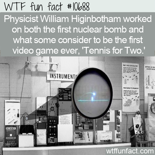 WTF Fun Fact - Game From Nuclear Bomb