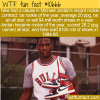 WTF Fun Fact – Jordan's Nike Contract