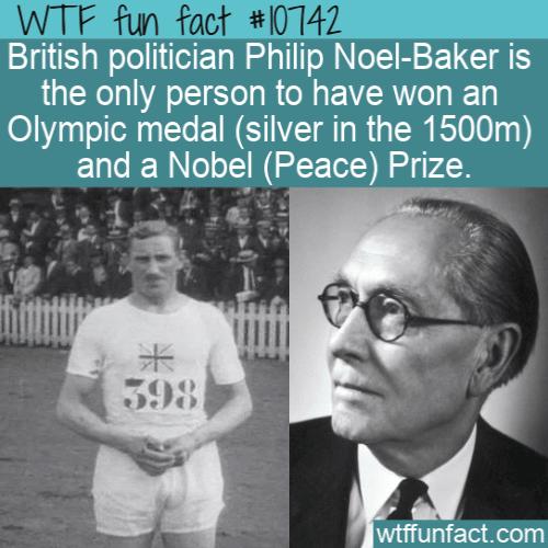 WTF Fun Fact - Philip Noel-Baker