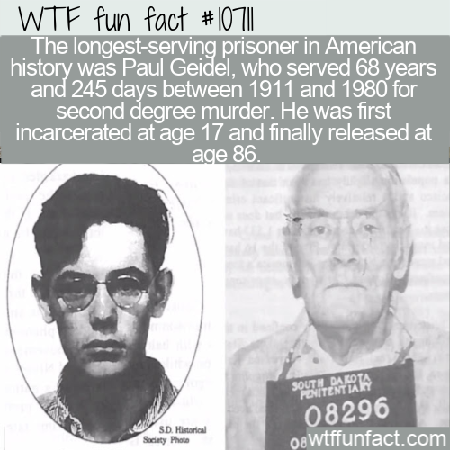 WTF Fun Fact - Prisoner Released After 68 Years