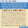 WTF Fun Fact – The Boy Bands Have Won