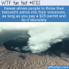 WTF Fun Fact – Unusual Volcano Ash