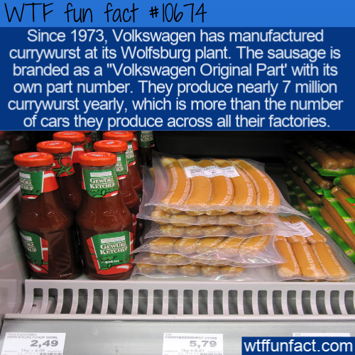 WTF Fun Fact - VW Currywurst