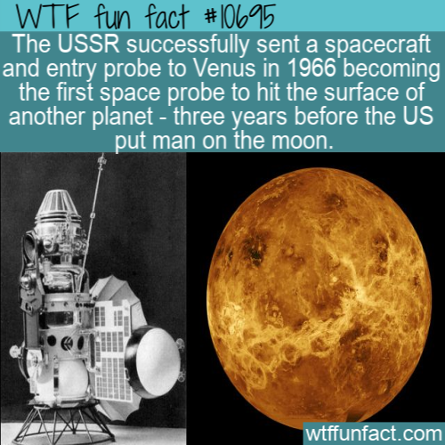 WTF Fun Fact - Venera 3