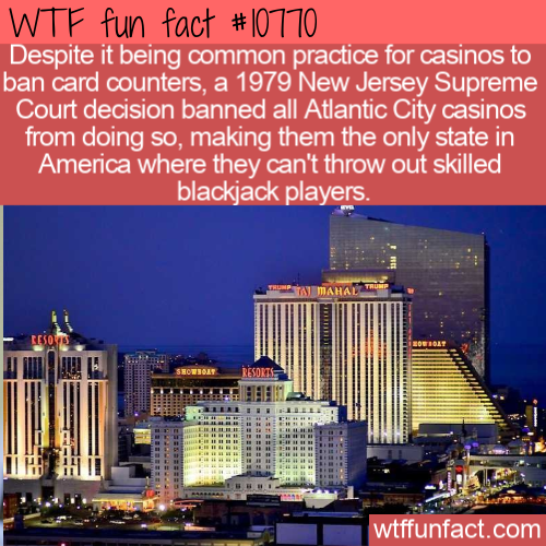 WTF Fun Fact - Card Counting Legal