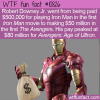 WTF Fun Fact – Iron Man Making Money