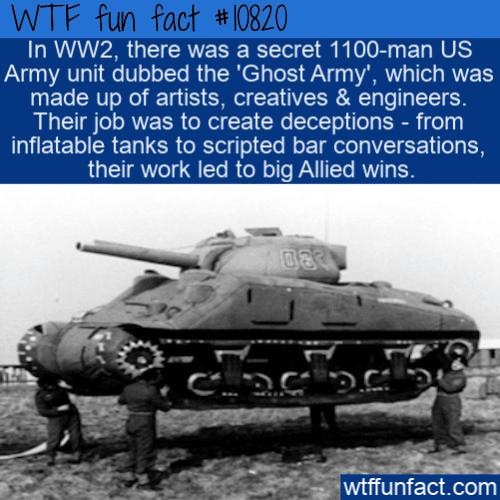 WTF Fun Fact - Ghost Army