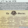 WTF Fun Fact – First Sunday Paper