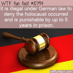 WTF Fun Fact - Holocaust Denial