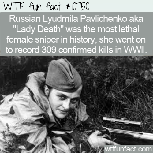 WTF Fun Fact - Lady Death