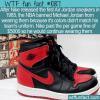 WTF Fun Fact – Air Jordans Banned