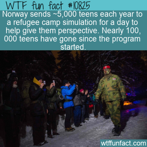 WTF Fun Fact - Norwegians Sent To Refugee Camps