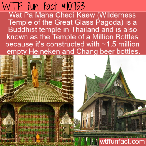WTF Fun Fact - Temple Of Beer Bottles