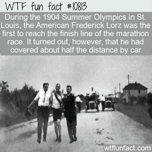 WTF Fun Fact - Unbelievable Marathon In St. Louis