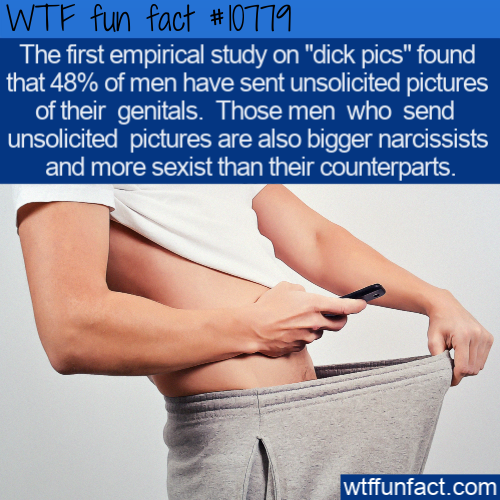 WTF Fun Fact - Unsolicited Private Pictures