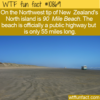 WTF Fun Fact – 90 Mile Beach