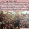 WTF Fun Fact – Half-Hangit Maggie