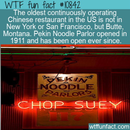 WTF Fun Fact - America's Oldest CHinese Restaurant
