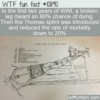 WTF Fun Fact – Broken Leg Meant Death