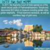 WTF Fun Fact – Padmanabhaswamy Temple Riches