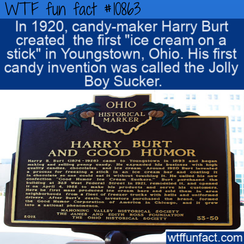 WTF Fun Fact - Jolly Boy Sucker