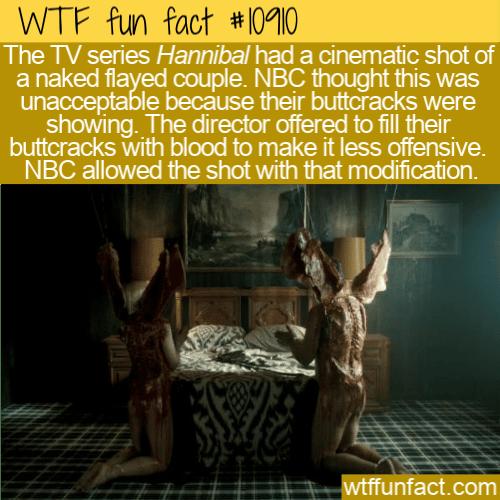 WTF Fun Fact - NBC No Buttcracks