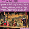 WTF Fun Fact – Puppets Save A Language