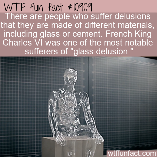 WTF Fun Fact - glass and cement delusion